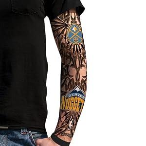 denver tribal tattoos Tattoo NBA Ink Fan's Caucasian Nuggets Denver Amazon.com: Tribal