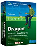 Update Dragon Naturally Speaking Preferred / v10 / Windows / CD Brown Bag (ohne Headset)