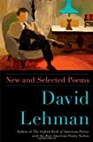 By David Lehman New and Selected Poems (Original)