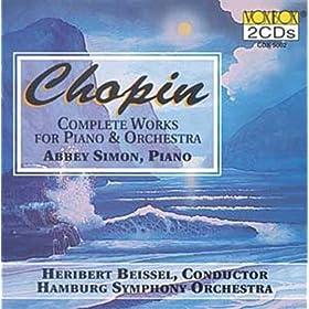 Chopin: ?uvres pour piano et orchestre (Int�grale)