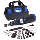 Dremel 7700-02 MultiPro 7.2-Volt 20,000 RPM Two-Speed Rotary Tool with 50 Accessories ~ Dremel