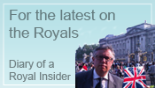 Image of Blogger and link to Diary of a Royal Insider Blog