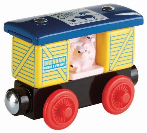 Fisher-Price Thomas Wooden Railway Creative Crossing Peg and Stack