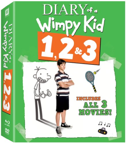 The Diary of a Wimpy Kid 1, 2 & 3 [Blu-ray]