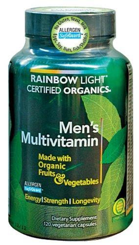 Rainbow Light Organic Men's Multivitamin