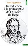 img - for Introduction   la philosophie de l'histoire de Hegel book / textbook / text book