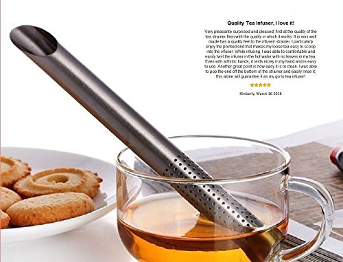 Sale!! Serenicitea Stainless Steel Long Handle Tea Infuser