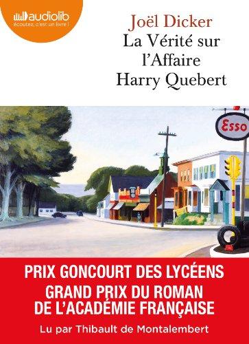 Télécharger La Vrit Sur Laffaire Harry Quebert Livre Audio 2 Cd
