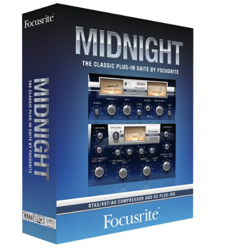 Focusrite Midnight ISA 110 and ISA 130 Plug-in