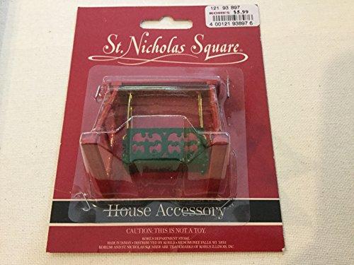 St Nicholas Square Christmas Village House accessories