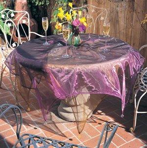 Sheer Tissue Organza Tablecloth 80