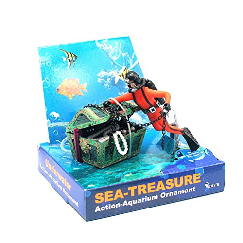five-season-treasure-diving-chest-live-action-aerating-aquarium-ornaments-decoration-orange-black