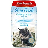 Bob Martin Baby Soft Anti Bacterial Clumping Cat Litter, 20 Litre