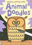 Animal Doodles [With Pens/Pencils] (Usborne Activity Cards) Fiona Watt
