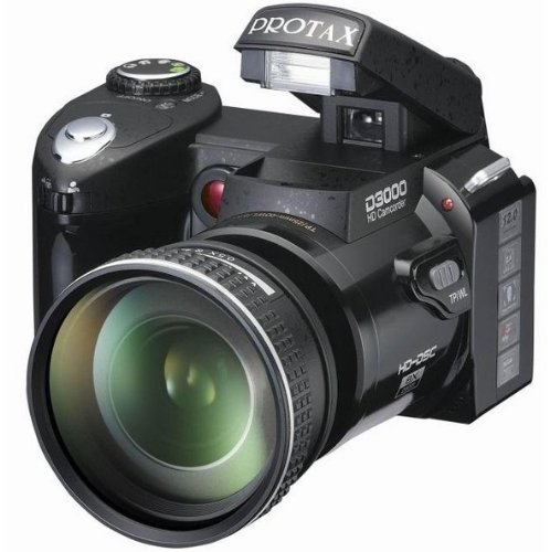 """New D3000 Digital Camera Dslr 16Mp 16X Digital Zoom With 16X Optical Zoom Telephoto Lens,3.0""""Lcd+Russian Languages"""