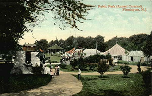 Annual Festival in public park. Flemington, New Jersey.