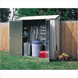 Storage Shed (CL72) Category: Arrow Foundation Kits and Accessories