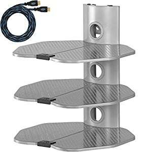 Cheap  Cheetah Mounts AS3S 3 Shelf TV Component Wall Mount Shelving Bracket