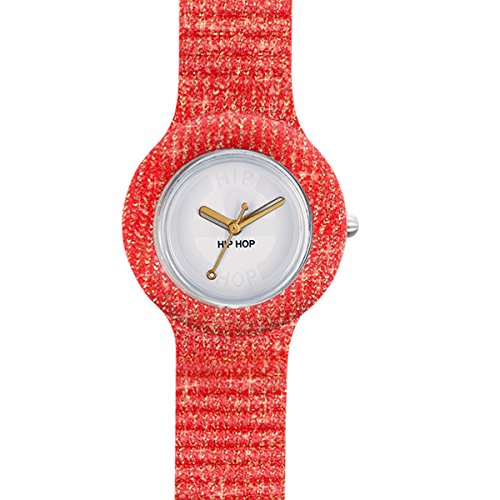BREIL HIP HOP Watch Lamè Unisex Only Time Red - hwu0271