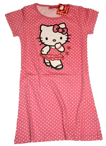 HELLO KITTY -Nightdress - Sleepshirt pink/white - 128