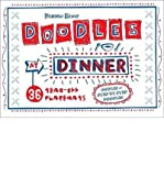 Doodles at Dinner: 36 Tear-Off Placemats (1934706256) by Deborah Zemke