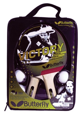 Check Out This Butterfly Victory 2-Player Table Tennis Set