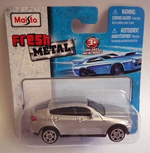 Maisto Fresh Metal Die-Cast Vehicles ~ BMW X6 (Silver)