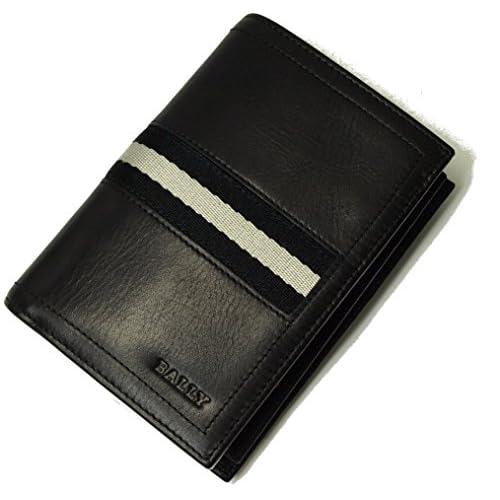 (バリー)BALLY TORCO/290 三つ折り札カードケース(ブラック) 6179173001 BA-972 [並行輸入品]