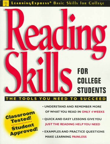 Reading Skills for College Students (Learningexpress Basic Skills for College Students)