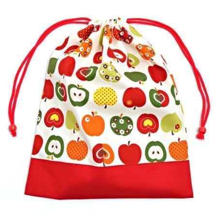 Segreto cambio di vestiti facilmente purse (di grandi dimensioni) abbigliamento da palestra sacchetto di mele moda (Ivory) x Bue Rosso fatto in Giappone N3361300 (japan import)