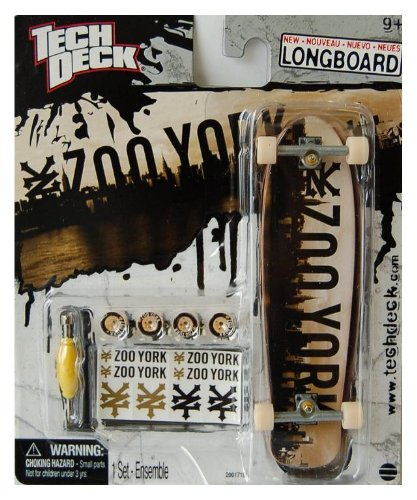 Tech Deck Exclusive Longboard 120mm ZOO York City Skateboard Larger Than 96mm - 1