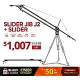 Konova Slider Jib J2 with K5 150cm (59.1 inch) Slider (Including Slider and Jib Crane)