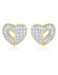 Mahi Gold Plated Earring With CZ For Women ER1103996G