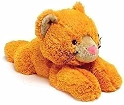 "Pack of 2 Lavender Scented Plush Orange Kitten Cuddlebudz - ""Buttercup"""