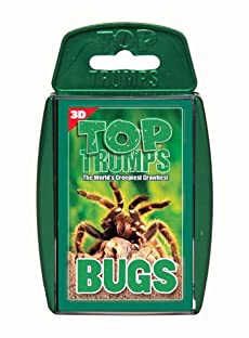 TOP TRUMPS BUGS 3D TRAVEL FAMILY GAME