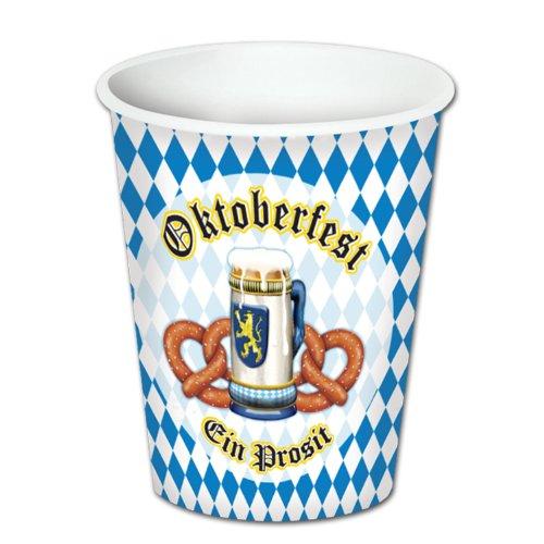 Oktoberfest Beverage Cups   (8/Pkg)
