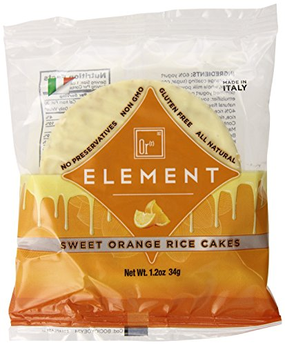 Element Sweet Vanilla Orange Rice Cakes