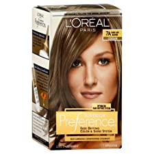 Permanent Haircolor, Cooler, Dark Ash Blonde 7A : permanent hair color