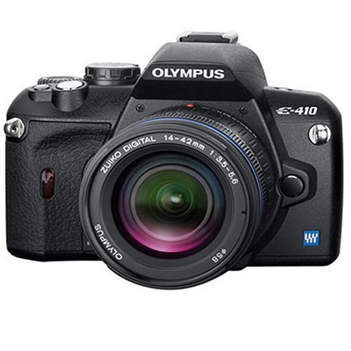 Olympus E-410 Digital SLR Camera (ED 14-42mm 1:3.5-5.6  &  ED 40-150mm 1:4.0-5.6)