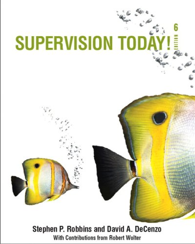 Supervision Today! (with Self Assessment Library 3.4)...