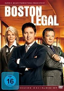 DVD BOSTON LEGAL - SEASON 1