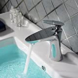 YC Vasque chromée ronde court robinet de modèles de robinet de bassin...