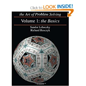 The Art Of Problem Solving Vol 1 The Basics Sandor