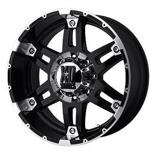 KMC Wheels XD Series Spy XD797 Gloss Black Machined Wheel (18×8.5″/6×5.5″)