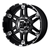 XD Series Spy (Series XD797) Gloss Black Machined - 17 x 9 Inch Wheel