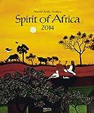 Spirit of Africa 2014. Kunst Art Kalender