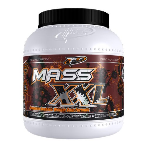 MASS XXL WEIGHT GAINER x 2000g (Chocolate Milkshake) BEST COMPLEX PROTEIN WHEY POWDER SHAKE DRINK