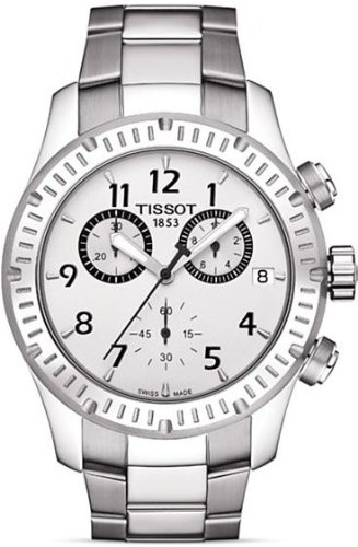 Tissot Mens Silver dial V8 watch T039.417.11.037.00
