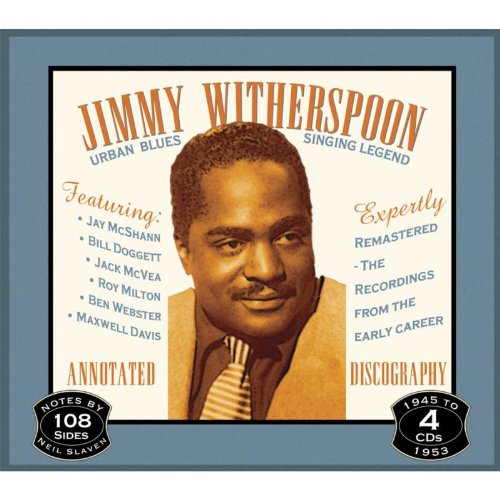 Urban Blues Singing Legend by Jimmy Witherspoon