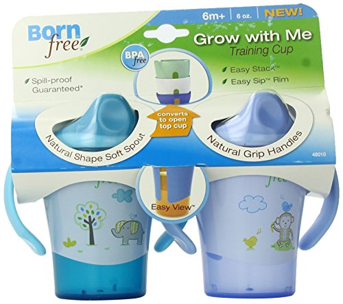 BPA-Free Grow with Me 6 oz. Training Cup, 2 Count